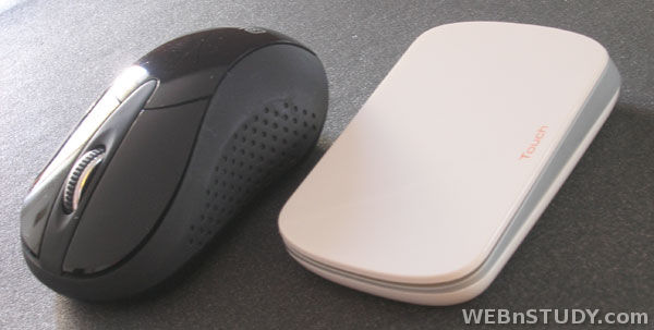 Mouse with buttons and with touch surface - Miš sa dugmićima i sa dodirnom podlogom